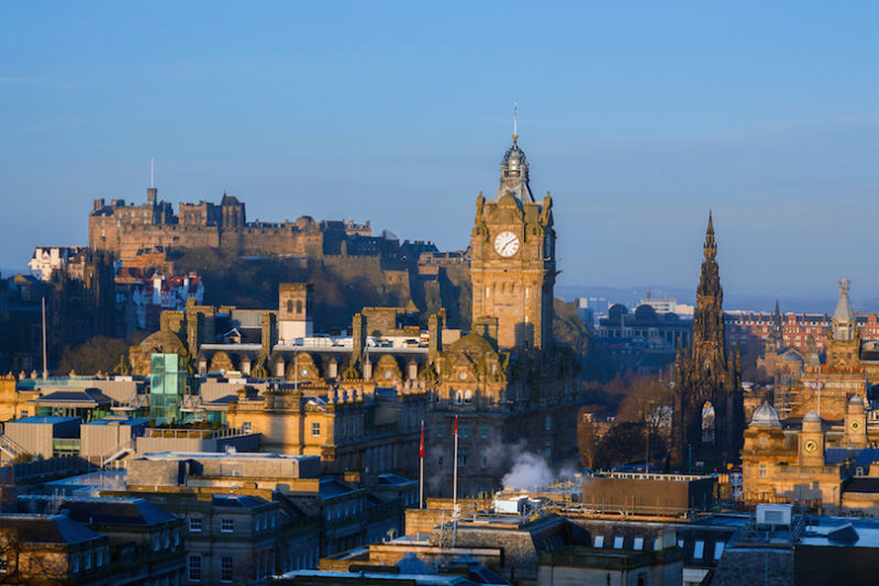 Top 10 Places To Visit In The UK - Edinburgh
