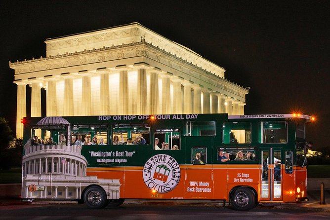 Ten Must See Sights in Washington DC - Monuments by Moonlight Tour